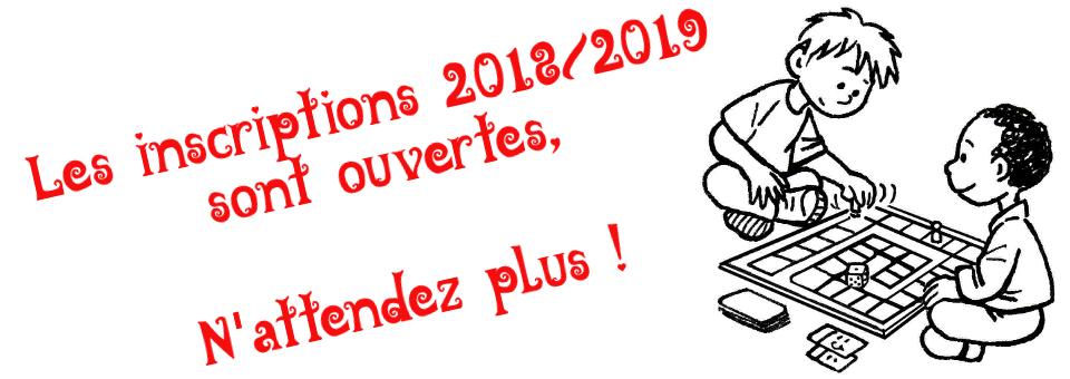 Inscription 2018-2019